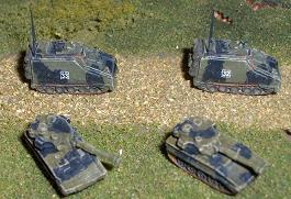 WWII Micro Armour GHQ War Games 1//285 Scale UK-25 Valentine MK III /& XI