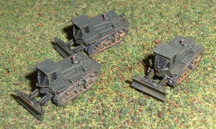 US Army Engineering And Support Vehicles